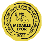 Médaille d'or Macon 2011